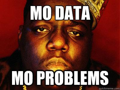 MO DATA MO PROBLEMS