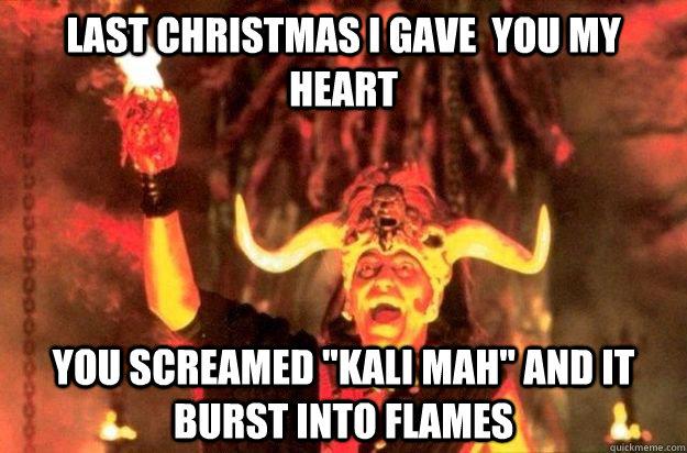last christmas i gave you my heart you screamed - Last Christmas I Gave You My Heart