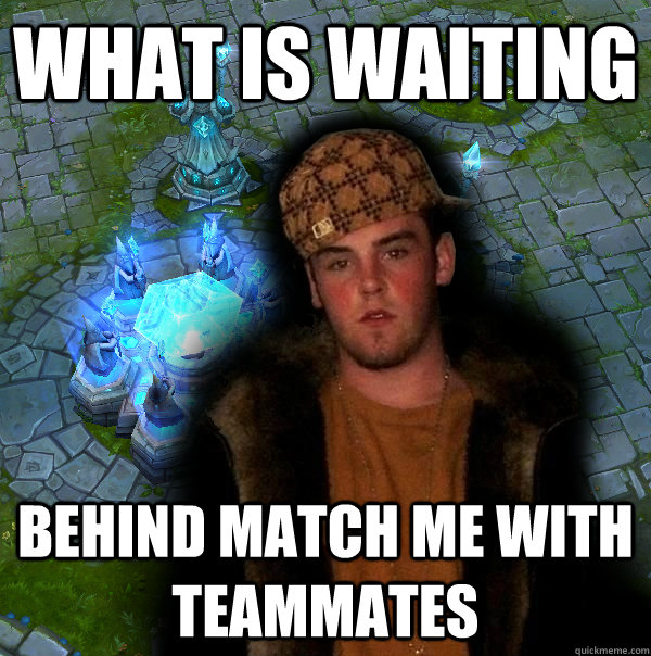 what is waiting behind match me with teammates