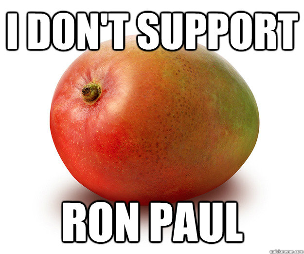 I don't support Ron Paul - I don't support Ron Paul  Misc