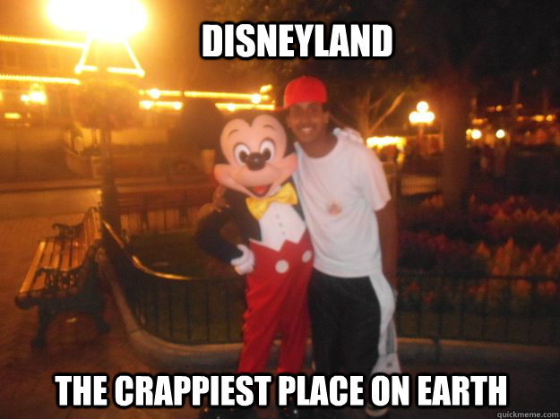 DisneyLand The Crappiest place on earth - DisneyLand The Crappiest place on earth  Misc