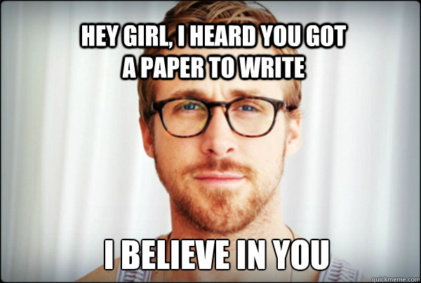 Write Your Paper Meme