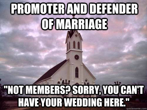 Promoter and defender of marriage