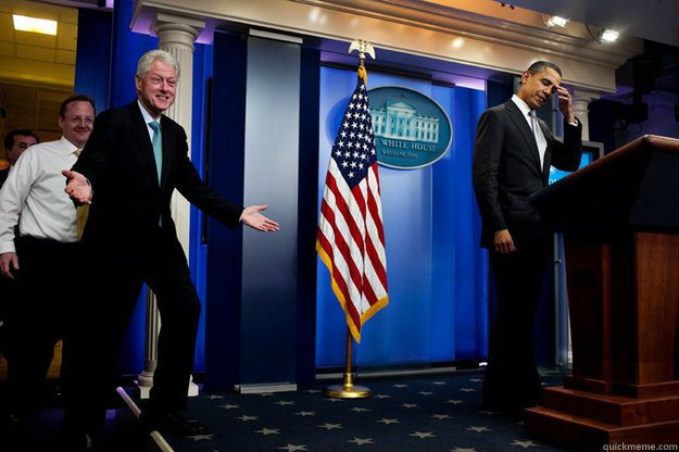 -    Inappropriate Timing Bill Clinton