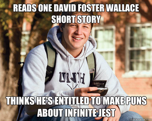 david foster wallace and short story