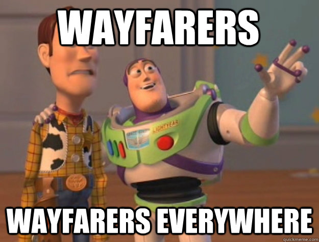 wayfarers wayfarers everywhere - wayfarers wayfarers everywhere  toystory everywhere
