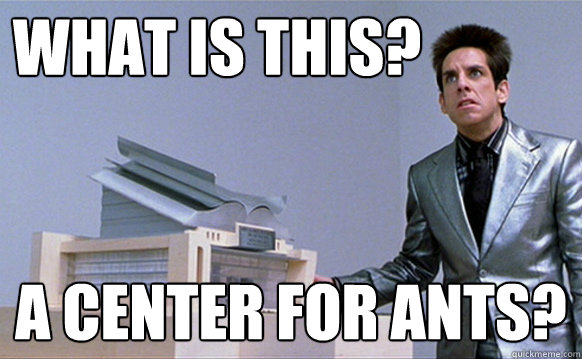 What is this? a center for ants?