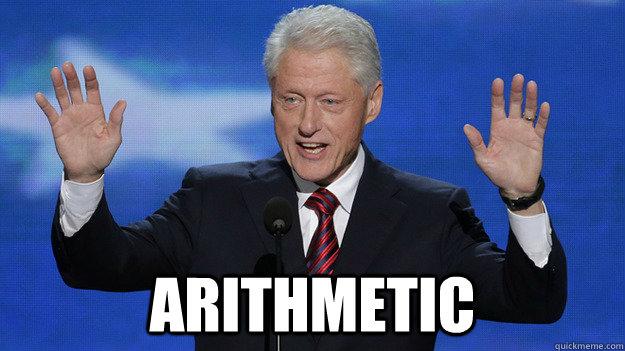 Arithmetic -  Arithmetic  Bill Clinton DNC 2012