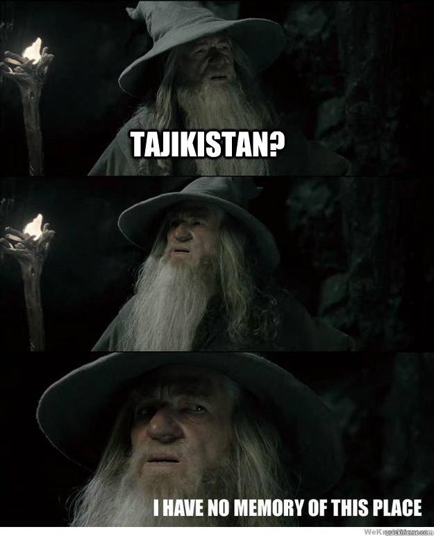 Tajikistan? - Tajikistan?  Misc