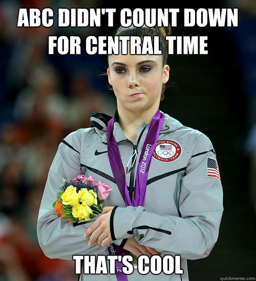 ABC DIDN'T COUNT DOWN FOR CENTRAL TIME THAT'S COOL - ABC DIDN'T COUNT DOWN FOR CENTRAL TIME THAT'S COOL  Misc