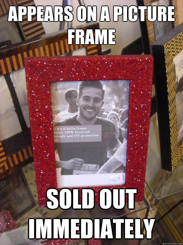 Appears on a picture frame Sold out immediately - Appears on a picture frame Sold out immediately  RPG in a frame