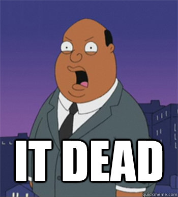it dead  Ollie Williams