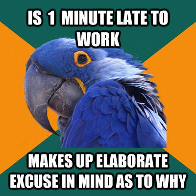 -    Paranoid Parrot