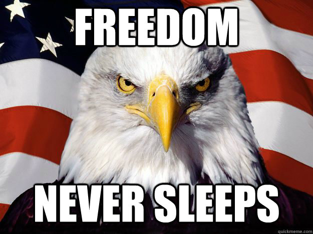 Freedom Never sleeps