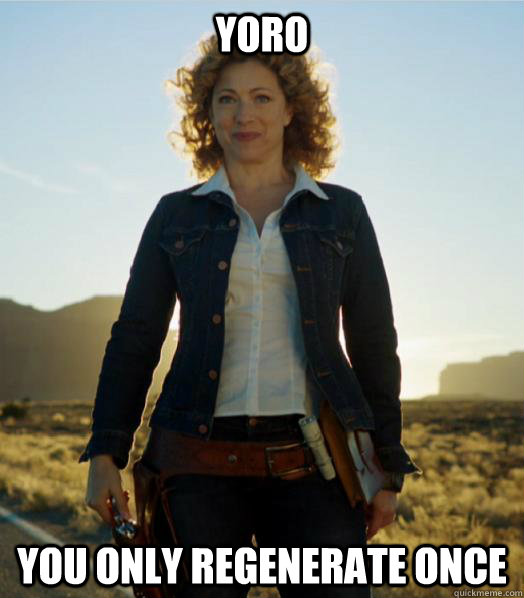 YORO You only regenerate once