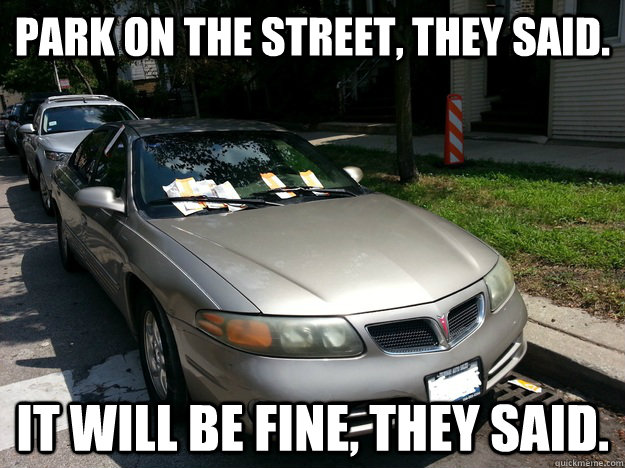 New Car Meme Funny : Some of the worst things about being a car owner parking tickets