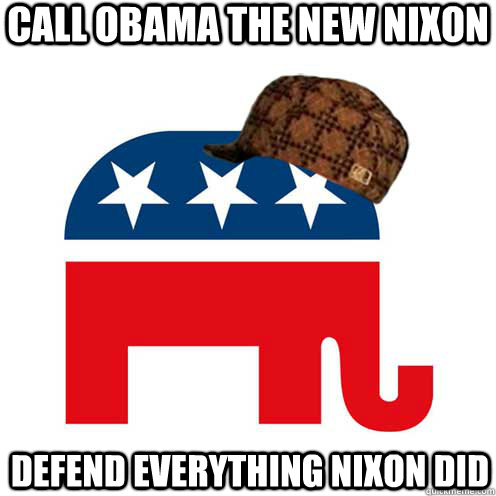 call obama the new nixon defend everything nixon did