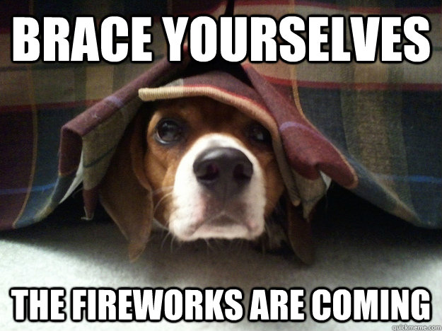 Brace Yourselves The fireworks are coming - Brace Yourselves The fireworks are coming  Misc