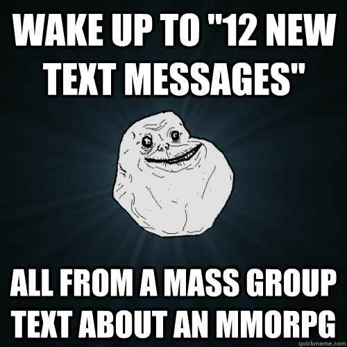 Wake up to 12 New Text