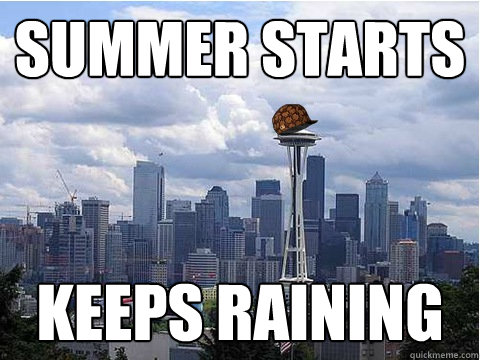 summer starts keeps raining