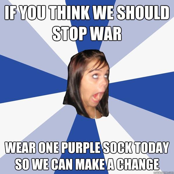 we should stop wars
