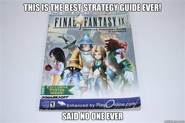 this is the best strategy guide ever! said no one ever - this is the best strategy guide ever! said no one ever  Misc