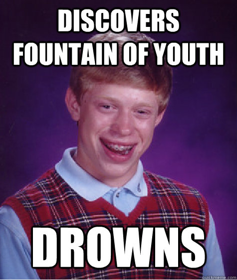 discovers fountain of youth drowns - discovers fountain of youth drowns  Misc