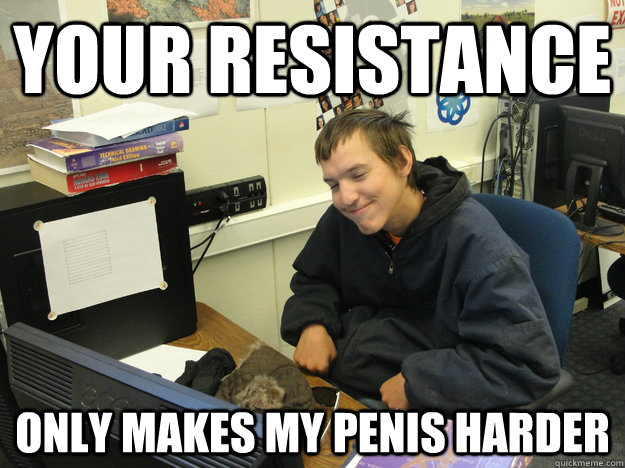 Your Resistance Makes My Penis Harder 73