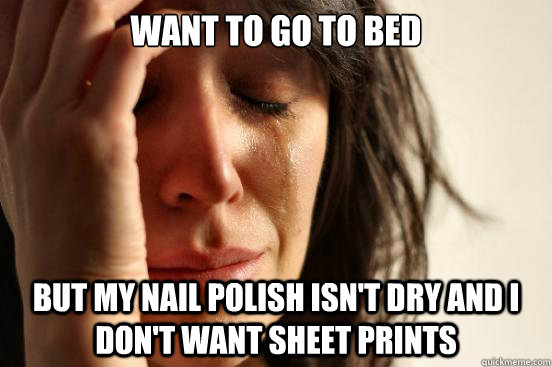i Don't Want Sheet Prints