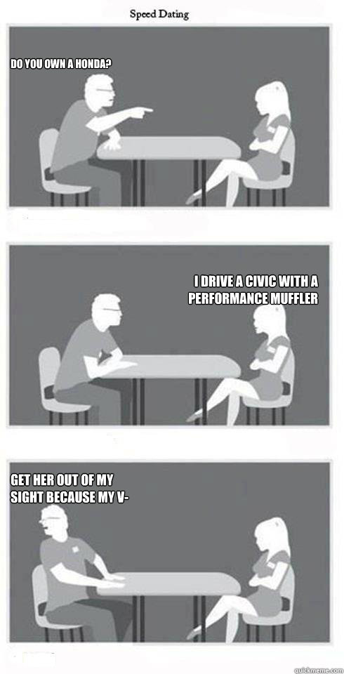 Speed dating on your own