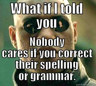 Grammar Nazi Indifference Quickmeme