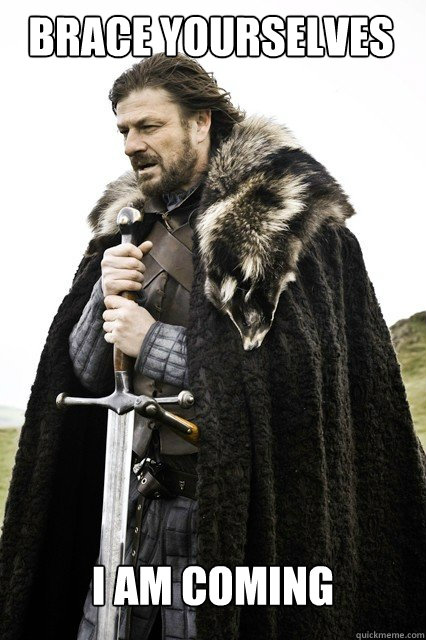 BRACE YOURSELVES I am coming - BRACE YOURSELVES I am coming  Boromir Relationship