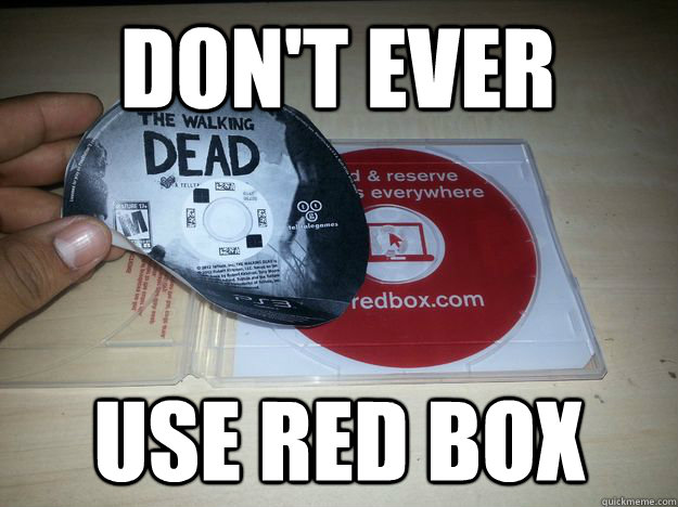 Don't ever use red box - Don't ever use red box  Misc