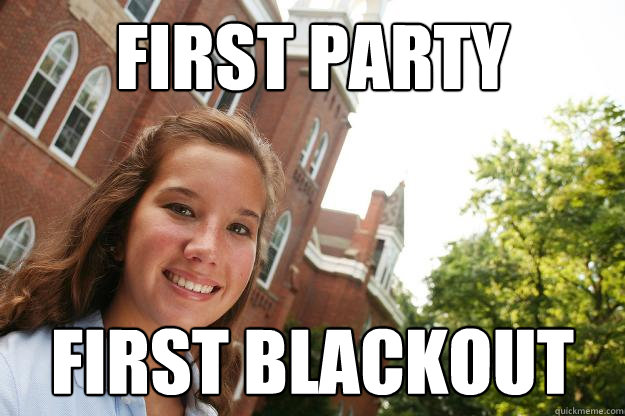 First party first blackout