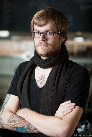 -    Hipster Barista