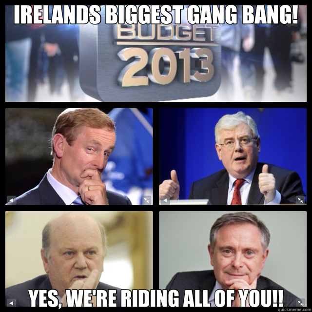 IRELANDS BIGGEST GANG BANG! YES, WE'RE RIDING ALL OF YOU!!