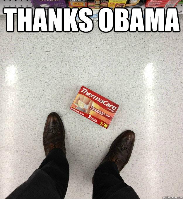 Thanks Obama  - Thanks Obama   Thanks a lot