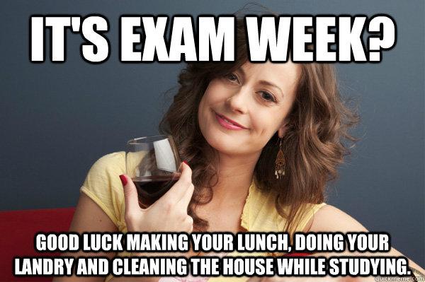 Good Luck on The Exam Good Luck Final Exam Meme Good