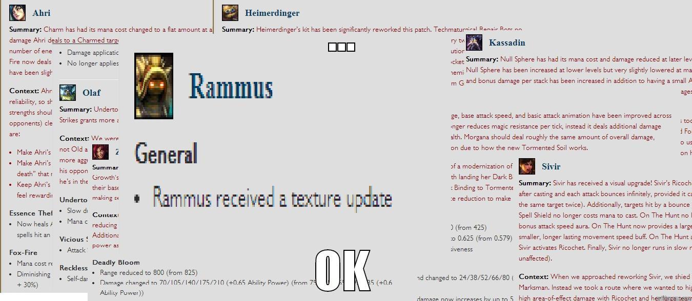 New Rammus Www Miifotos Com