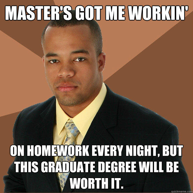 Is a masters a graduate degree