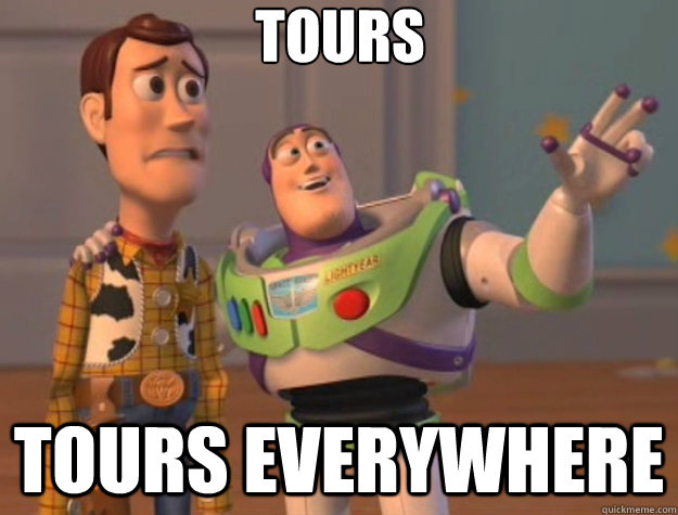 tours tours everywhere - tours tours everywhere  Toy Story