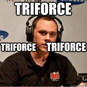 triforce triforce triforce  Phreak