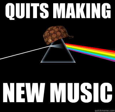 quits making new music