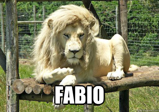 Fabio -   Fabio  Ridiculously Photogenic Lion