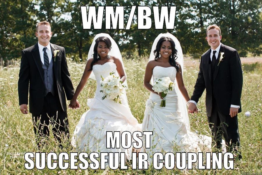 Black girl dating white guy meme