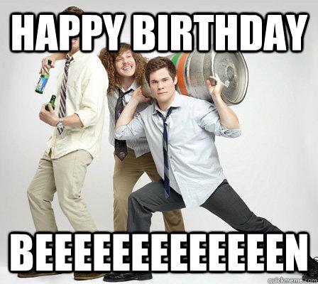 Happy birthday workaholics meme dating