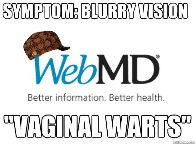SYMPTOM: BLURRY VISION