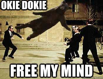 Okie Dokie FREE MY MIND  Boulder Bear has no problem