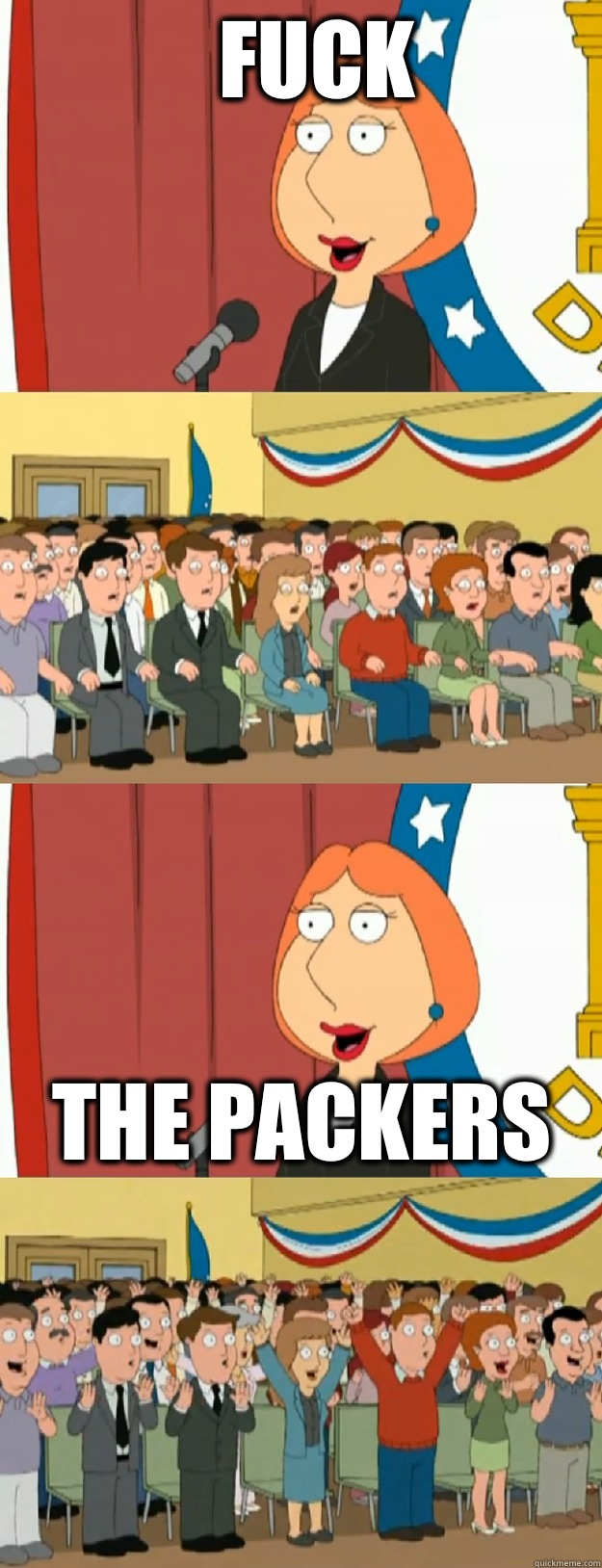 Fuck The Packers - Fuck The Packers  Lois Griffin