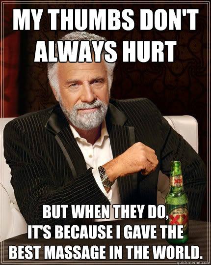 986aa5313ff0bc4813b320384476018253752ac8ca61d8a2cf4f31985125b40b athletic trainer massage memes quickmeme